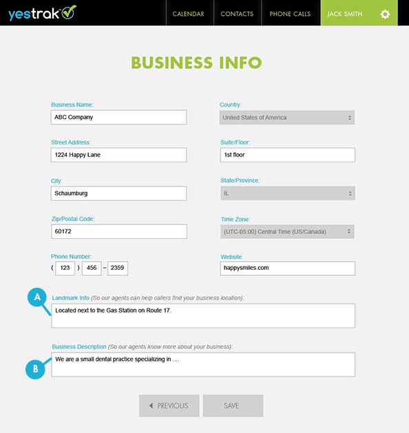 yestrak-edit-business-information