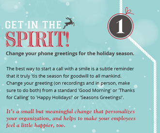 7 Holiday Hints for Cheery Customer Care